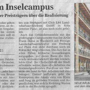 2019-07-05 Kurier_Insel-Campus